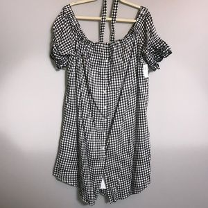 Old Navy - XXL - NWT Over the Shoulder Lined Dress